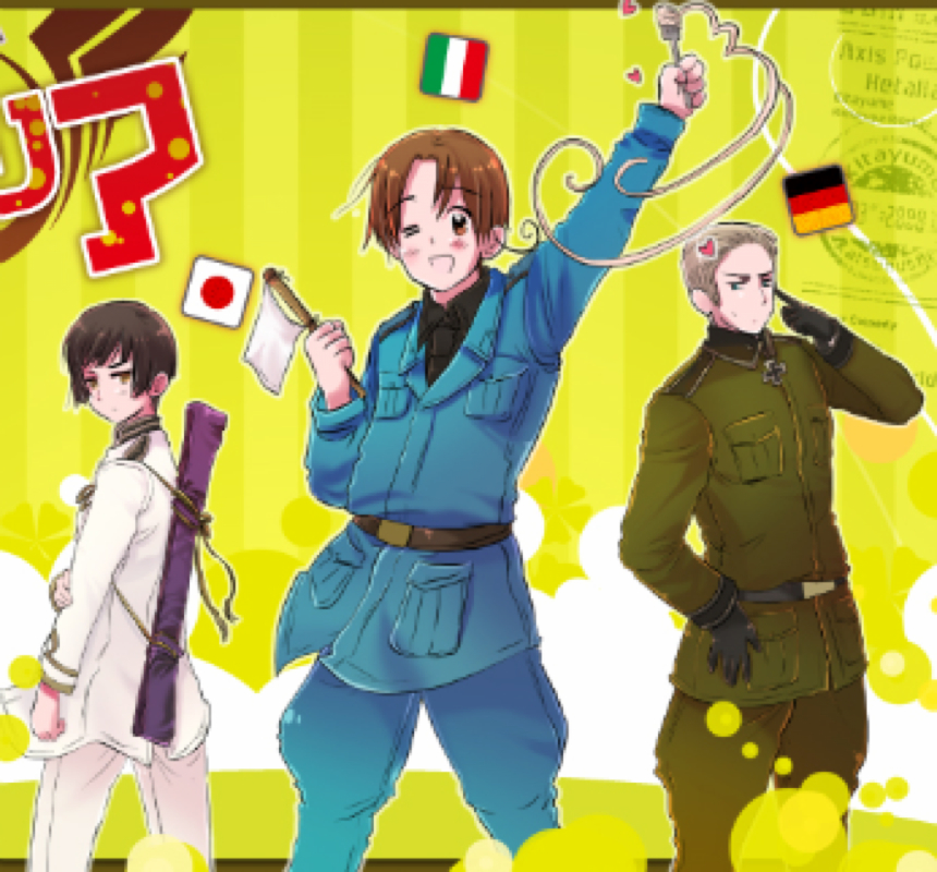 Hetalia Axis Powers  Wikipedia